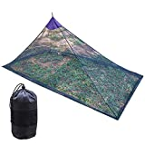 <span class='highlight'><span class='highlight'>Afittel0</span></span> Outdoor Mosquito Net,Camping Tent Insect Repellent Net Camp Mosquito Net Portable Mosquito Netting for Camping Hiking Fishing Jungle Expeditions