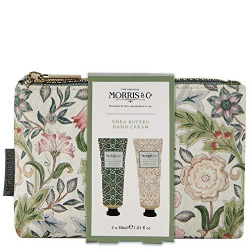 Morris & Co. Beauty Jasmin und Grüner Tee Handpflege Kosmetiktasche mit Handcreme