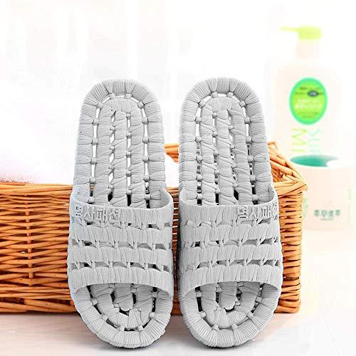 Chanclas para Hombre, Zapatillas Ligeras, Zapatillas de Masaje Antideslizantes para el baño, Sandalias secas al Aire Libre de Suela Gruesa para Hombres y Mujeres, Zapatos de pedicura para