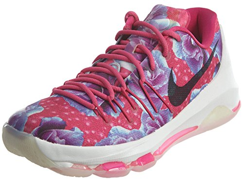 Nike Herren KD 8 PRM Basketballschuhe, Rosa/Schwarz/Silber (Vivid Pink Black Phantom), 43 EU