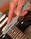 Fret Crowning File Guitar Luthier Leveling Dressing Tool Bass Electric Acoustic Dual Cutting Edges Ultimate Dagger Design Jumbo 6100 6105