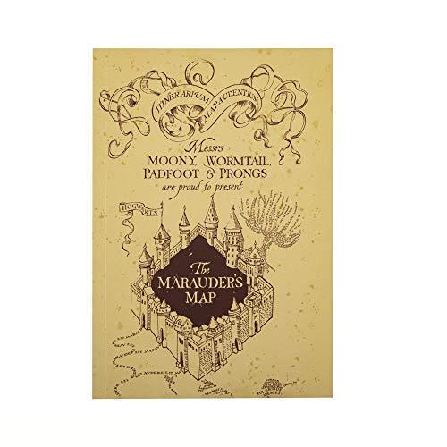Cinereplicas Harry Potter - Notizbuch Die Karte des Rumtreibers 120p - Offizielle Lizenz