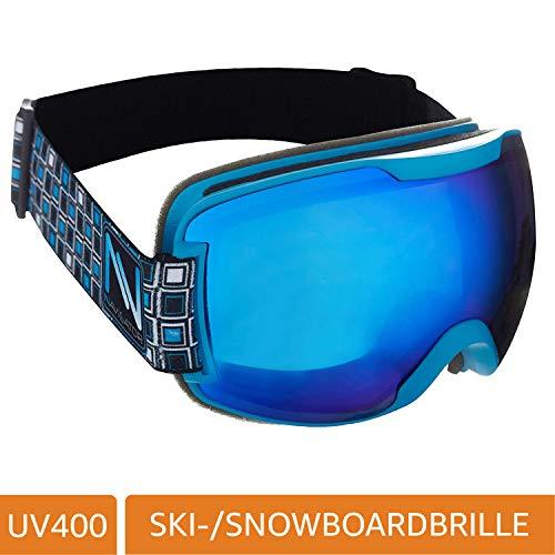 NAVIGATOR Sigma Skibrille Snowboardbrille, Unisex/-Size, div. Farben (BLAU)