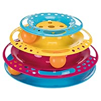 great for solo play for cats great fun for all cats, to relieve boredom, encourages natural behaviour, play with your cat to help bonding