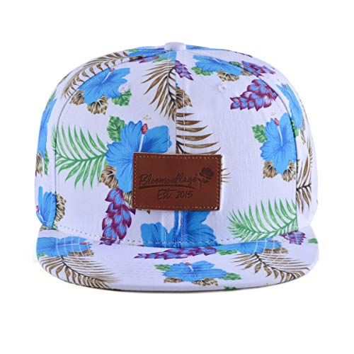 Bloomouflage Brand Tropical Blue Hat