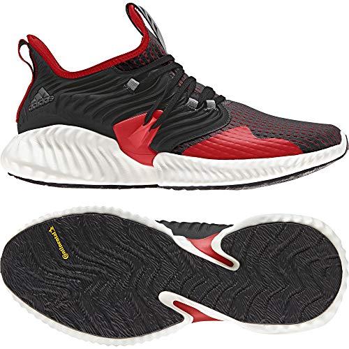 Adidas Alphabounce Instinct CC m, Zapatillas de Trail Running Hombre, Multicolor (Negbás/Rojact/Negbás 000), 45 1/3 EU