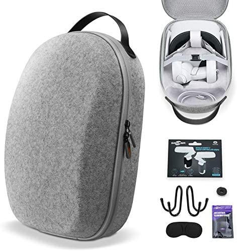 SARLAR Design Hard Carrying Case for Oculus Quest 2 Elite Strap Edition Quest Lightweight and product image