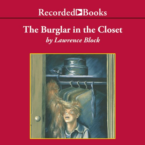 The Burglar in the Closet audiobook cover art