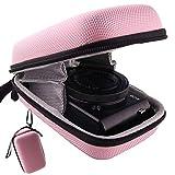 waiyu Hard EVA Travel Case for Canon PowerShot G7X/SX730HS/ SX620HS/SX720HS/SX740HS Digital Camera (Pink)