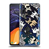 Head Case Designs French Bulldog Dog Breed Patterns Soft Gel Case Compatible for Samsung Galaxy A60 / M40 (2019)