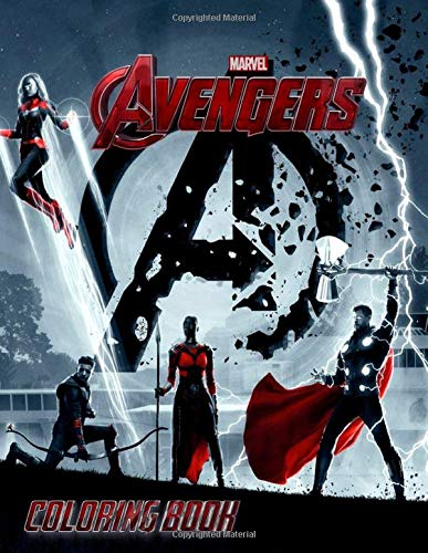 AVENGERS Coloring Book: Coloring Books for Kids and Adults (37 High Quality Illustrations)