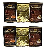 Bali's Best Coffee, Espresso and Latte Candy Three Pack, 5.3oz