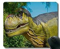 マウスパッド滑り止め、幸せな恐竜のオフィスマウスパッド