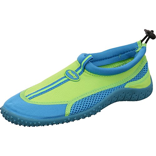 Fashy Kinder Aqua Schuh Modell Guamo (7495 60) - Farbe: grün-türkis - Gr. 27