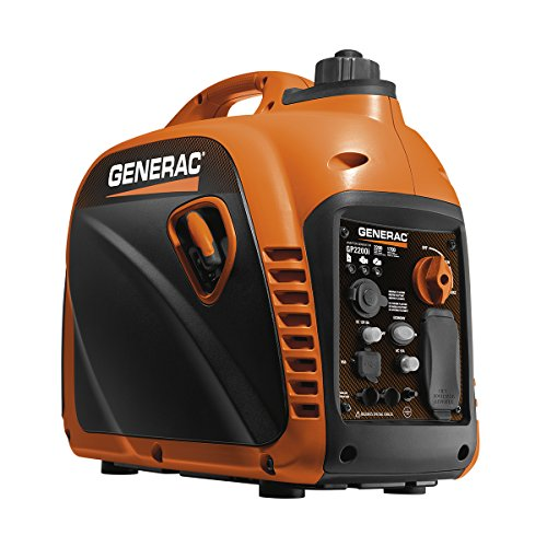 Generac 7117 GP2200i 2200 Watt Portable Inverter Generator  Parallel Ready