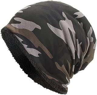 Men Women Caps Hat Girls Warm Baggy Camouflage Crochet Winter Ski Beanie Skull Caps Hat