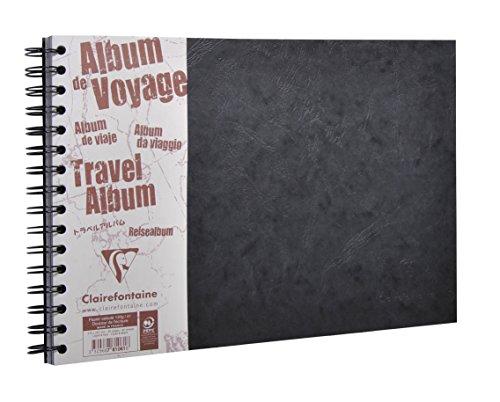 puissant Clairefontaine 781061C – Album de voyage spirale «Age Bag» Page 80 29,7 × 21cm Format latéral…