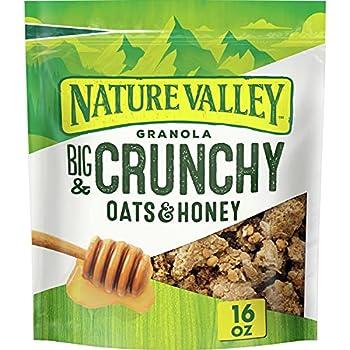 Nature Valley Oats & Honey Big & Crunchy Granola Breakfast Cereal 16 oz.