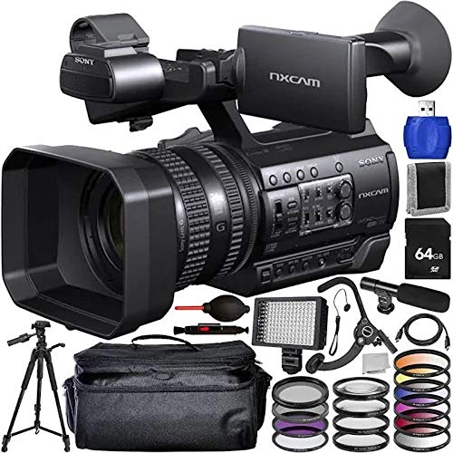Sony HXR-NX100 Full HD NXCAM Camcorder with Accessory Bundle