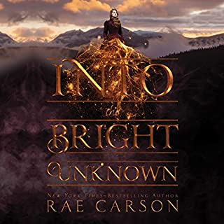 Into the Bright Unknown                   By:                                                                                                                                 Rae Carson                               Narrated by:                                                                                                                                 Erin Mallon                      Length: 8 hrs and 59 mins     100 ratings     Overall 4.6