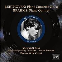 Beethoven: Piano Concerto No.2, Brahms: Piano Quintet