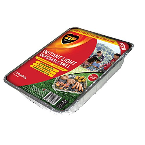 Zip Instant Light Disposable Grill