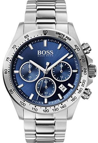 Hugo Boss Reloj Cronógrafo para Hombre de Cuarzo con Correa en Acero Inoxidable 1513755