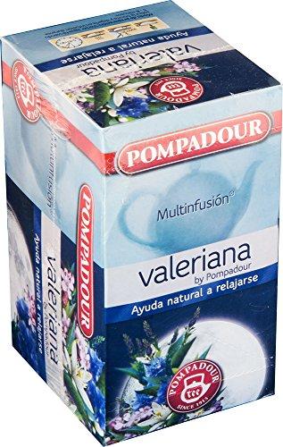 Pompadour Té Valeriana, 20 Sobres