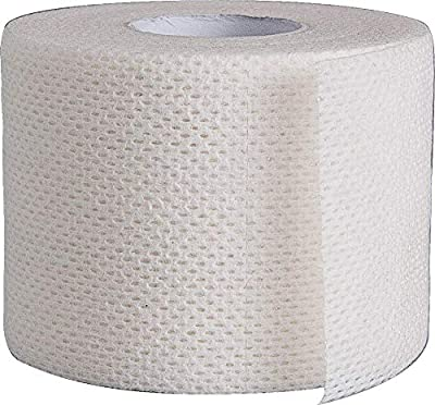 "Surgical Tape Porous Skin Soft Fabric Cloth Adhesive Tape 2"" x 10 Yards Two Rolls; by Areza Medical"