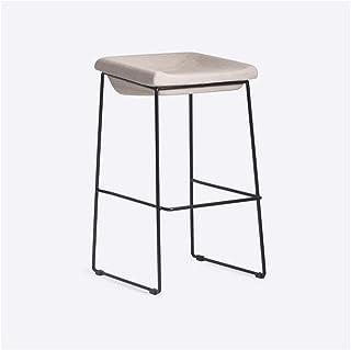 FTFTO Décoration de Salon Chaises de Bar Chaises de Bar Chaise Haute en métal Moderne Durable Tabourets pour Cuisine Café ...