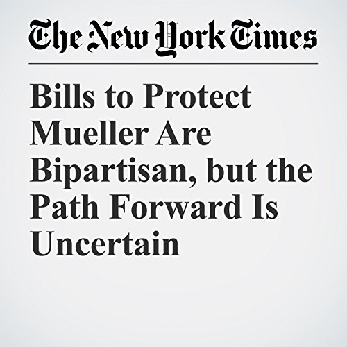 Bills to Protect Mueller Are Bipartisan, but the Path Forward Is Uncertain copertina