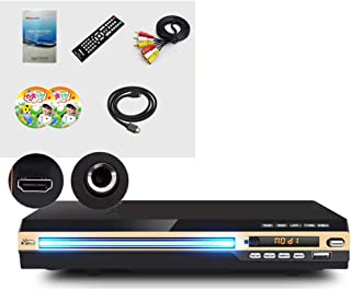 HD DVD Player, HDMI Eye Protection, USB Multimedia Playback Function, with Microphone Game Interface, Eight-Core Dual High...