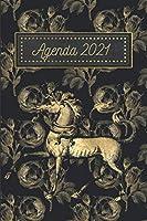 Agenda in Italiano 2021: Un'Agenda dove troverai lo Spazio per la lista delle cose importanti da fare per gli Amanti dello Stile Retro.