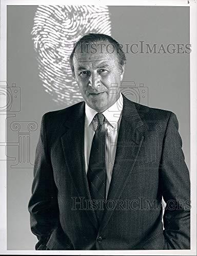 Historic Images 1989 Press Photo Robert Loggia Mancuso FBI