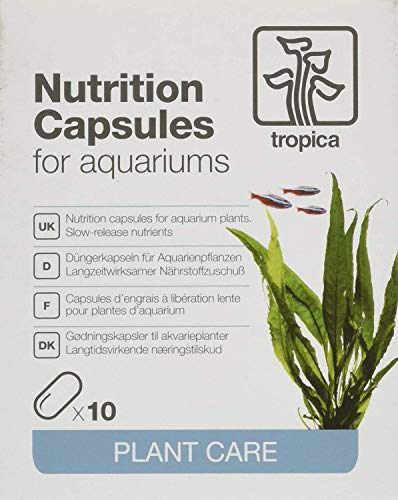 Tropica 10 Düngerkapseln Nutrition Capsules - Düngung für Aquarienpflanzen