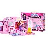 LINAG Puppenhaus Häuser Paket Minipuppen Mini-Szene Zuhause Einrichtung Spielzeug Möbel Zubehör...