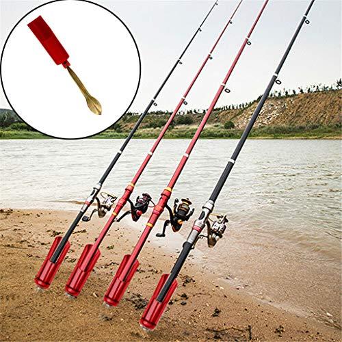 Rutenhalter Fishing Rod Stand Wallerrutenhalter, Welsrutenhalter, Wallerrutenständer, Rutenständer für Wallerruten Zeck Fishing, Ständer Angelhalter Angelrutenhalter Flussangeln für Welsruten