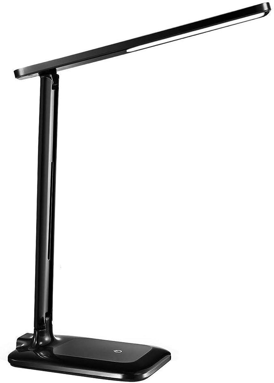 XIANGHUi LED Tischleuchte 3 Helligkeits-Augenpflege empfindliche Berührungssteuerung warmes weißes kaltes weißes tragbares kompaktes Bürohaus Lesen   Lernen Arbeit, schwarz B07JZ71CSN  | Ruf zuerst