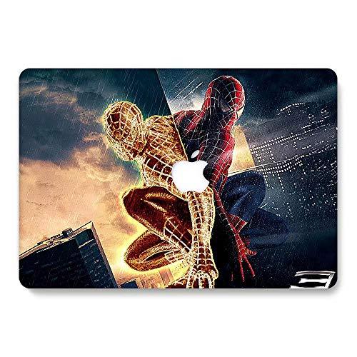 AQYLQ Coque MacBook Retina 12, Coque rigide en plastique ultra-mince pour MacBook 12 pouces avec écran Retina A1534 (dernière version en date de 2017/2016/2015) - Spiderman 8