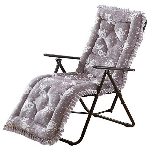 Belleashy - Cojín suave para tumbona, tumbona, tumbona, para jardín, exterior, interior, sofá, tatami, asiento de coche, banco para el hogar, poliéster, 7, 145 cm