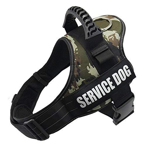 Eyeleaf Hundegeschirr – Pet K9 Hundegeschirr, kein Ziehen, atmungsaktiv, verstellbarer Komfort, XS Hundegeschirr, weiche Nylon-Weste, Geschirr für kleine, mittelgroße und große Hunde
