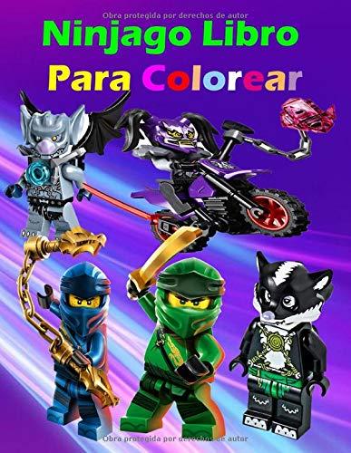 Ninjago Libro Para Colorear: Con 60 diseños di Alta Calidad , Fácil y divertido para niños y adultos de 3-8, e 8-12, +18 (Español)