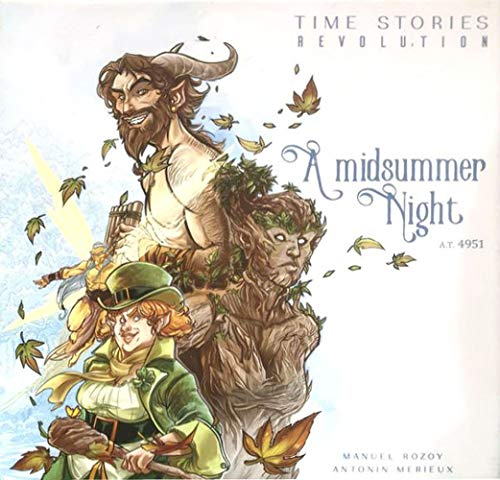 Space Cowboys Asmodee A Midsummer Night: Time Stories Revolution, Various (ASMSCTS12EN)