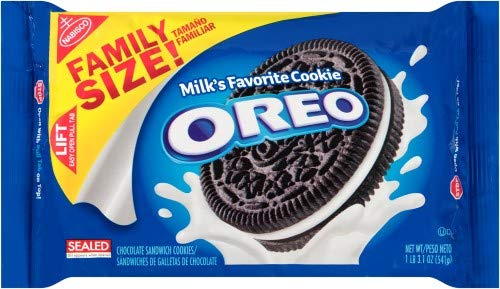 Oreo Chocolate Sandwich Cookies Family Pack online shop 6 Max 44% OFF of Size