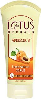 Lotus Herbals Apriscrub Fresh Apricot Scrub, 180g