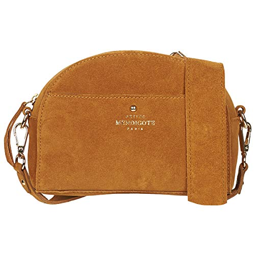 Petite Mendigote Benji Bisacce/Tracolle Donne Camel - Unica - Tracolle Bag