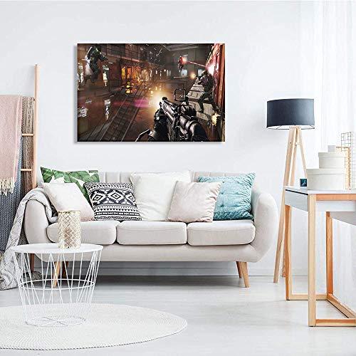 Lienzo de impresión de arte de pared Call of Duty: Advanced Warfare Cartel de decoración de arte de pared personaje del juego Regalo de decoración del hogar de arte moderno. 76x51cm(30x20in)