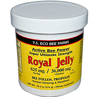Y.S. Organic Bee Farms, Royal Jelly, 20.3 oz (576 g) by Y.S. Eco Bee Farms