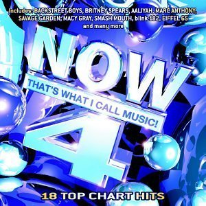 Now That\'s What I Call Music! 4 by Various Artists, Britney Spears, Mandy Moore, Jennifer Lopez, Aaliyah (2000-07-18?