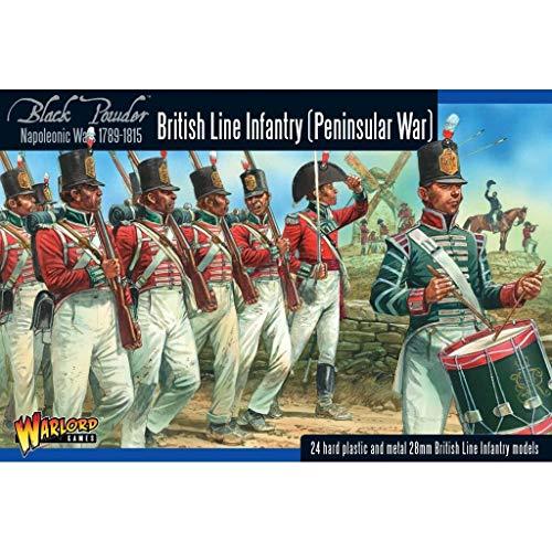 Black Powder British Line Infantry Peninsular War Military Wargaming Plastic Model Kit